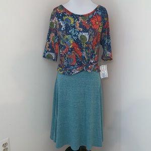 LuLaRoe Skirts - Lularoe Gigi Top & Azure Skirt